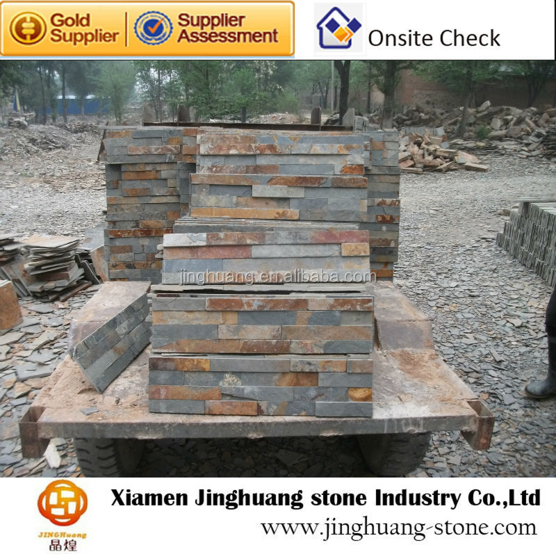 Cheapest Exterior Wall Cladding Material Rustic Stone