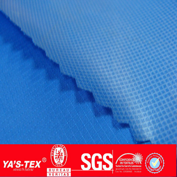 TPU PU coated 100% waterproof polyester taffeta for light jacket lining