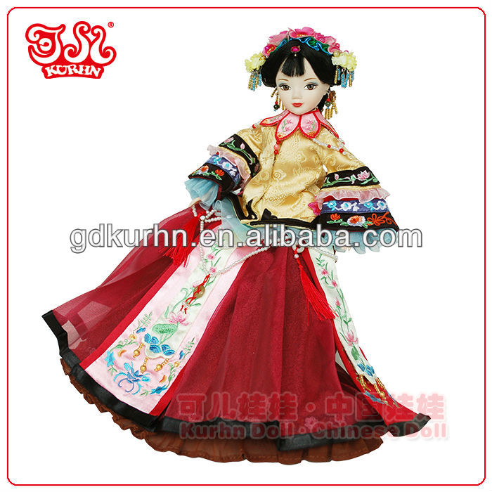 High-end limited edition Chinese barbiee collector doll