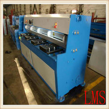 6x1300 hydraulic guillotine shearing cutting plate machine