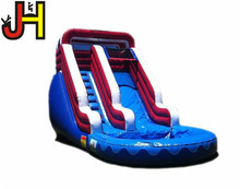 Customized Inflatable Water Slide With Small Pool Inflatable Bouncer Slide For Sale