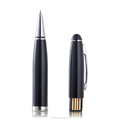 2015 new products Mini USB Pen Type voice recorder built-in 8GB 30hours long time record pen audio recorder with Mp3 playe