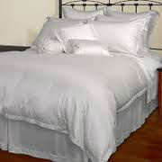 High quality white dyed 100% micro modal bedding fabric