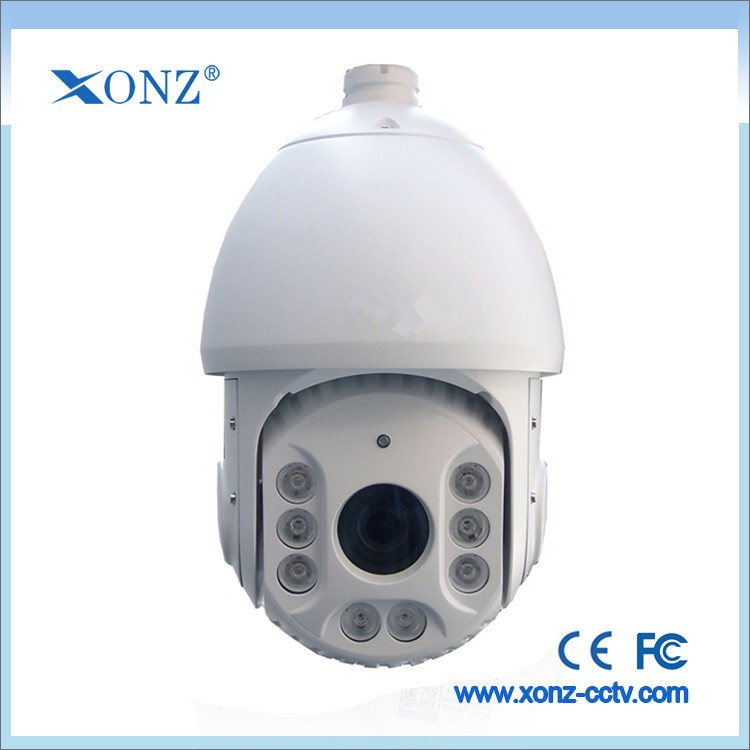 Onvif ptz closed circuit camera, full HD 360 degree ptz ip camera 20x Optical zoom and day night vision
