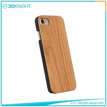 Real cherry wood phone case 3d for iPhone 7,phone case cover for iPhone 7