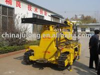 HZ-10 crawler air compressor water well drilling rig