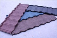 light weight stone coated roofing material bitumen tile metal roof tile in nigeria