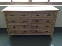 French Flamed wooden Chest of Drawers