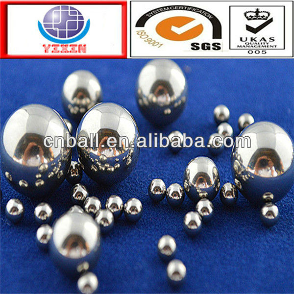 2016 promotional 1.588mm 15.875mm 14.288mm 19.05mm stainless steel <strong>ball</strong>