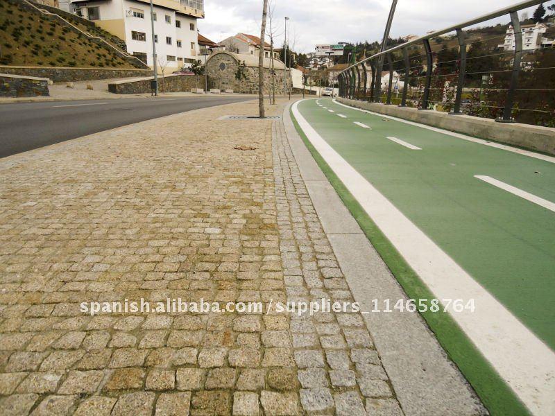 Adoquines granito piedra pisos piedra de pavimentar for Adoquines de granito