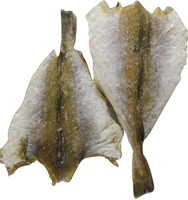 dried fish like butterfly and cod fish