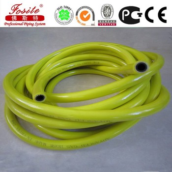 cheap colorful transparent flexible pvc garden hose for water system