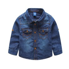 Top 10 Fashion Brands Denim Shirt Kids Child Clothes Of China Wholesale