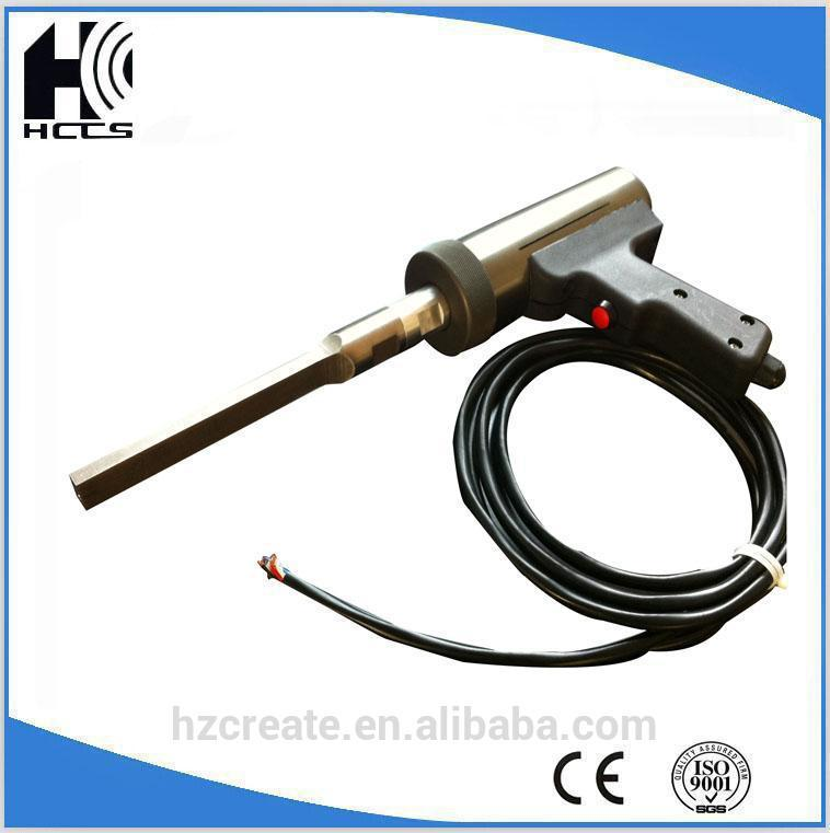 hand held al ultrasonic horn Plastic box welding