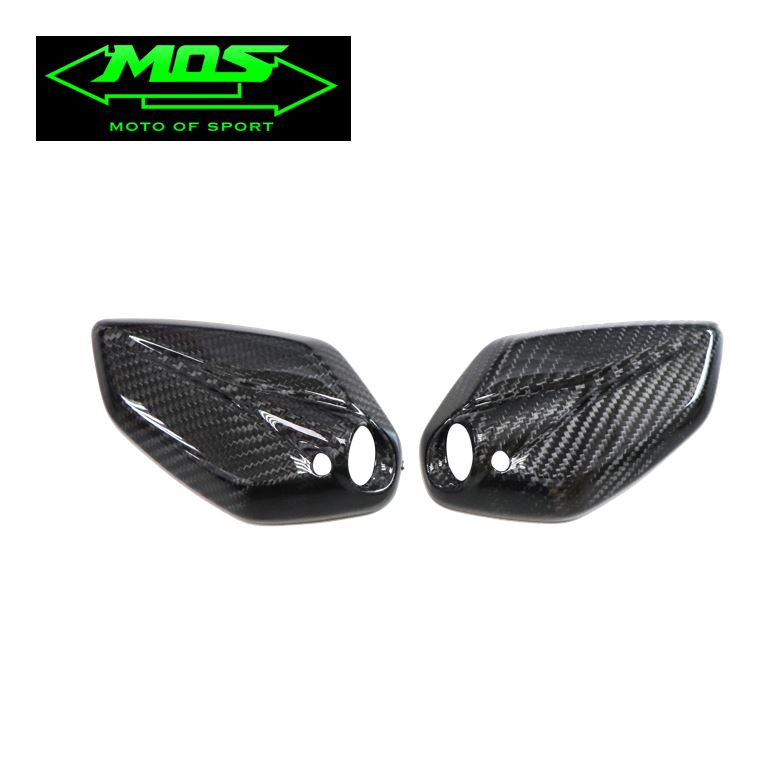 [MOS] Carbon Fiber Rear View Mirror Covers (pair) for Yamaha NMAX 125/155