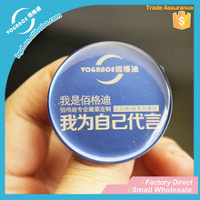 VOGRACE Professional cutom round metal badge button