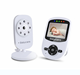 2017 new arrival 2.4g wireless 2.4 inch digital lcd night vision audio video camera baby monitor