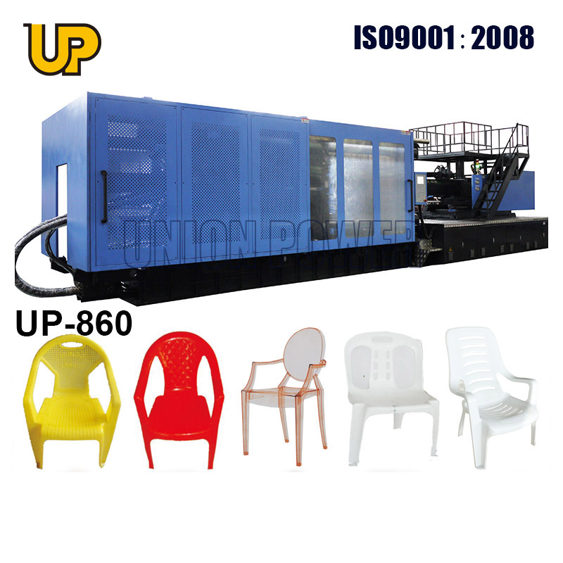 plastic injection moulding machine to make chair with arm