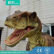 Outdoor Aumsement Park Realistic Dinosaur Costume For kids