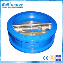 1 inch Wafer water WCB butterfly check valve symbol flow direction