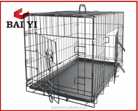 Colorful foldable iron dog cage for America