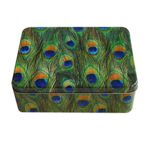High Quality Rectangular Biscuit Mooncake Tin Box