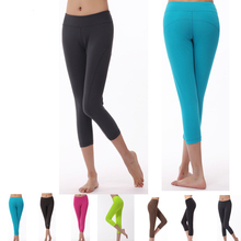 Wholesale custom tight women short yoga pants women sport leggings