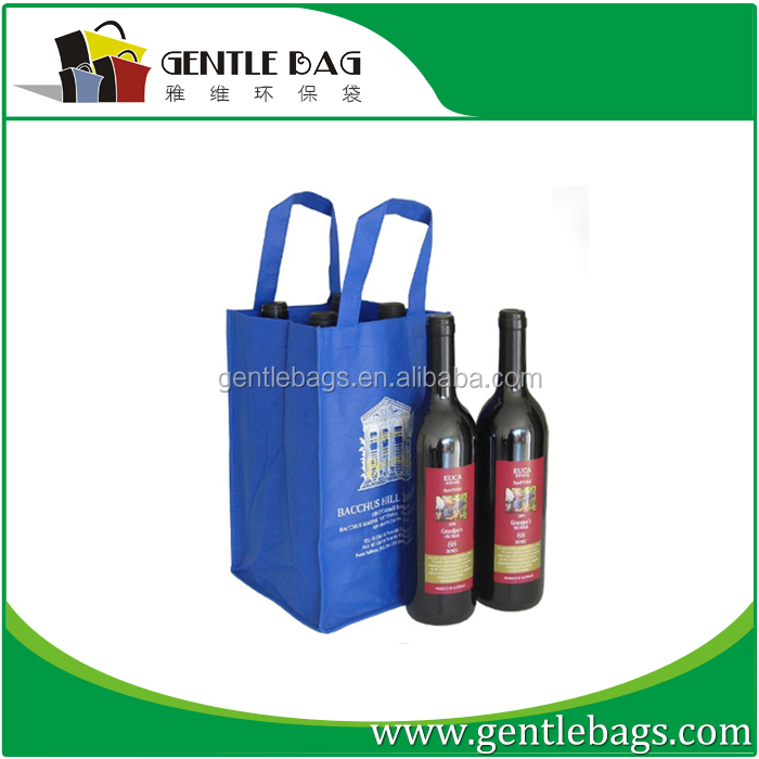 Cheap hotsell wholesale jute wine bag