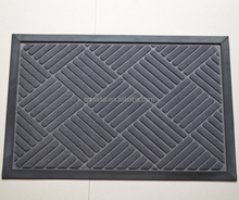Polyester pile Mat, Entrance Mat, Nylon Mat with Rubber Backing