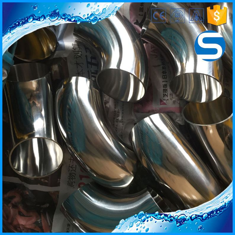 ASME/ANSI B16.9 stainless steel cold forming 90degree elbow
