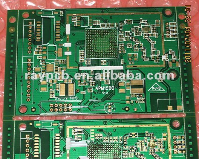 12 Layer HDI blind and buried BGA plug impedance PCB