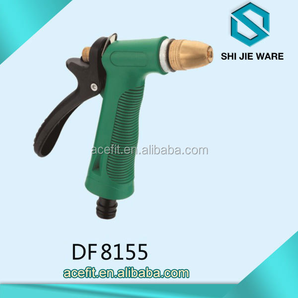 Factory Sales Spray Gun Durable Soft Manual Handle Water Pressure Garden Hose Nozzle