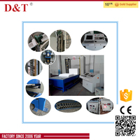 D&T 2D CNC polystyrene hotwire cutting machine for cutting polystyrene