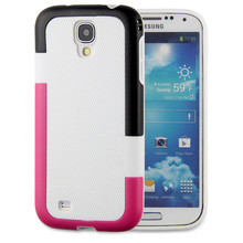 Hot selling 2 in 1 Multi-Function Mix Soild Colour Hybrid Combo Back Cover Case For Samsung Galaxy S4