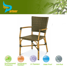 Philippines Bamboo and Rattan Patio Furniture Bamboo Set / French Style Bamboo Cane Chair