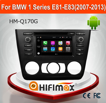 Hifimax Andriod 7.1 Car Radio For BMW E81 E82 E88 1 series (2007-2013) Navi Manual Air Conditioner Or auto a/c