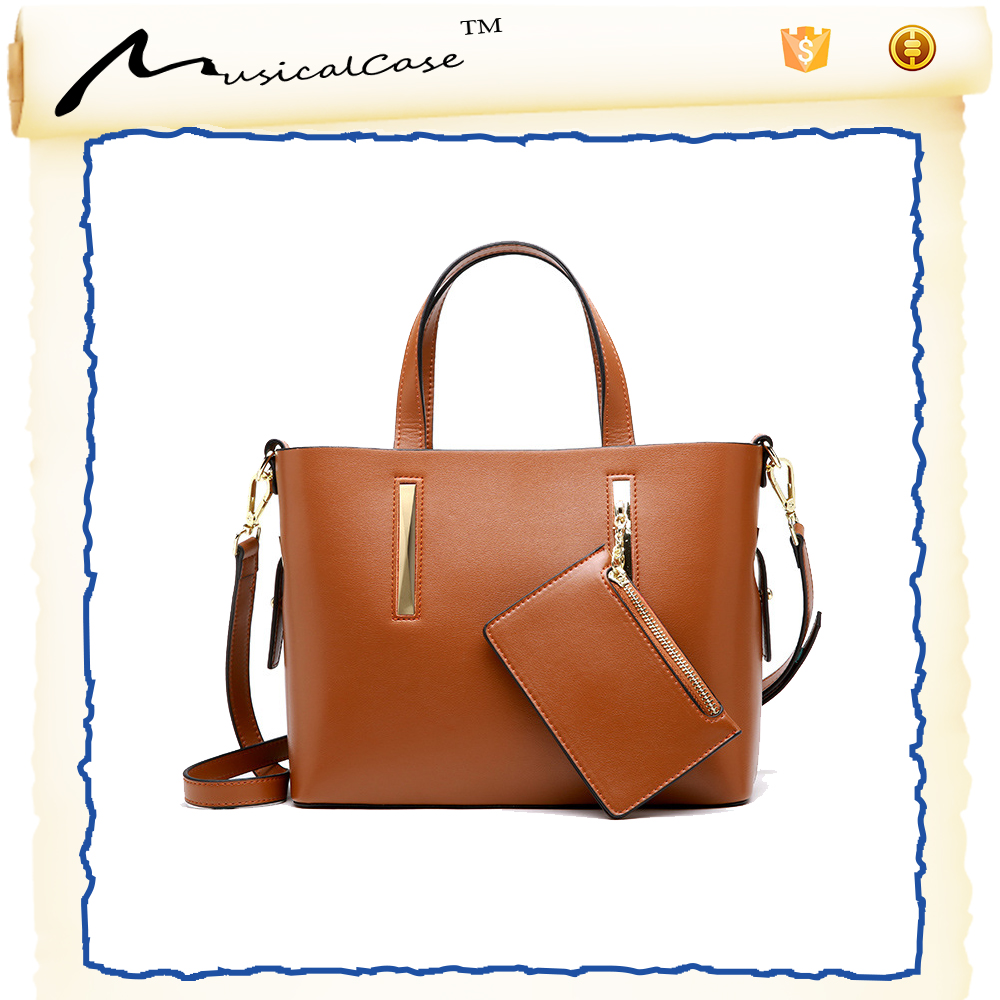 Autumn Winter leather bag All-match Fashion Large Capacity shoulder bag lady