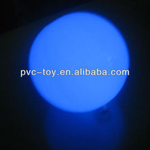 30cm inflatble pvc led lighting ball for party decoration