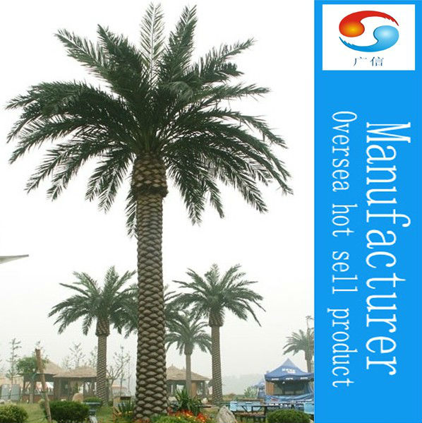High Quality Artificial Natural Date Palm Trees tower