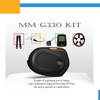 CE approved Bafang 8fun G33 MAX 36v 250w/350w Electric Bike Kit/cheap E Bike bicycle mid motor Kit In China