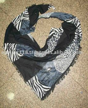 Cotton Printed Ladies Triangles scarves on sale for Best price from India