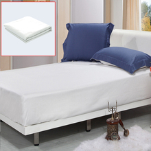 100% Child Bamboo Fibre Waterproof Bed Sheets Twin Full Queen King Mat Mattress Protector Cover Pad