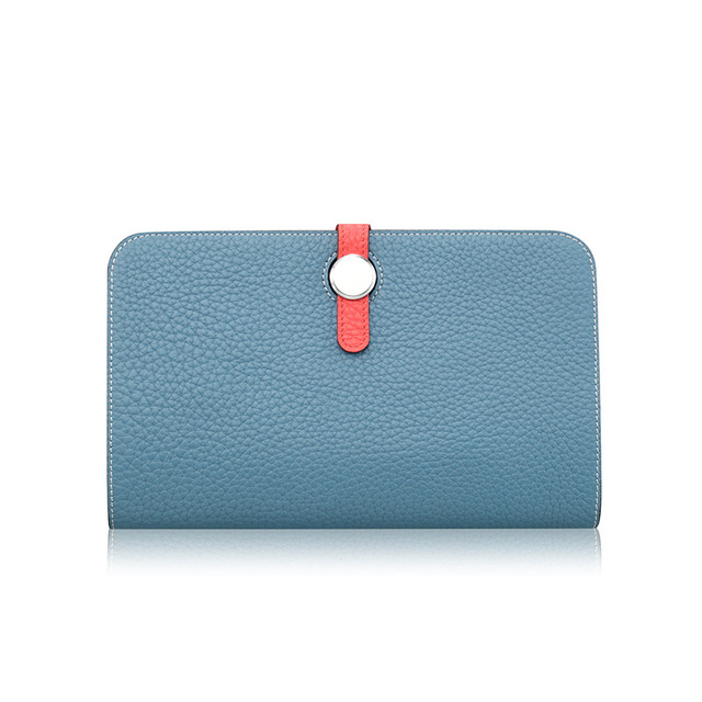 Import From China New Trend Guangzhou Factory Tmall Shop Wholesale Own Brand Names Long Wallets Men