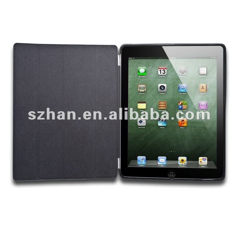 Black Smart Cover Case + Companion Case For Apple iPad 2 WIFI 3G