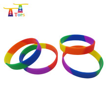 wholesale wristband multi color custom led diy light silicon bracelet for party