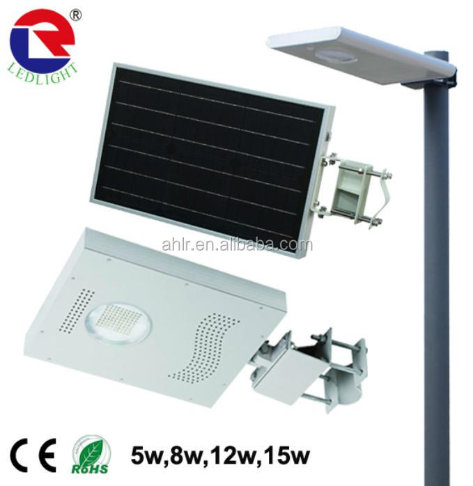 2015 Neweat led street light solar energy 50w outdoor led lighting All in one