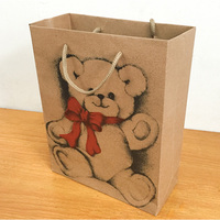 Hot sale and rarely vintage kraft paper bag for gift / shopping