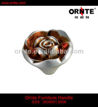 2013 Round Flower Drwer Knobs (T576)