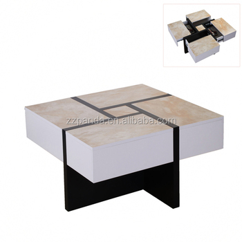 Home furniturer popular storage display cabinet coffee table