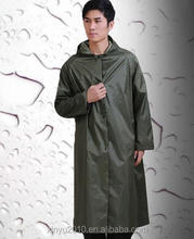 wholesale china guangzhou a blank raincoat rain coat men waterproof